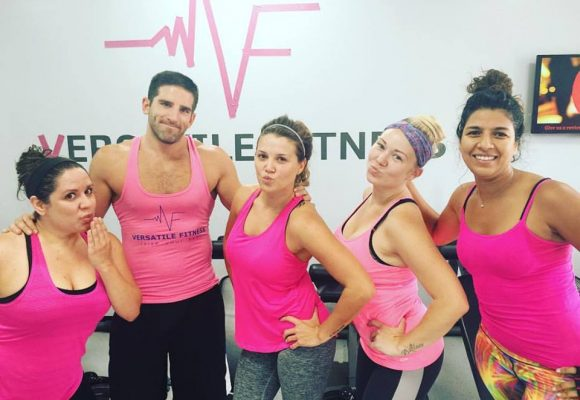 Pink warriors train for the cure!